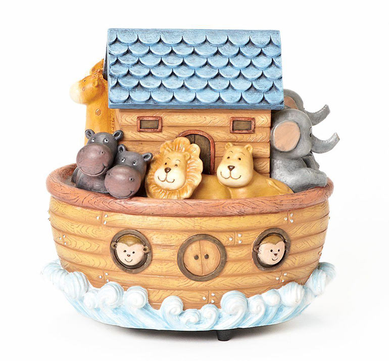 noahs ark money box christening gifts