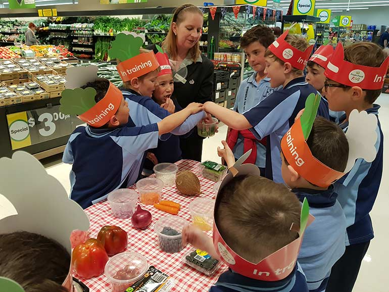 woolworths-kids-discovery-tour-tasting
