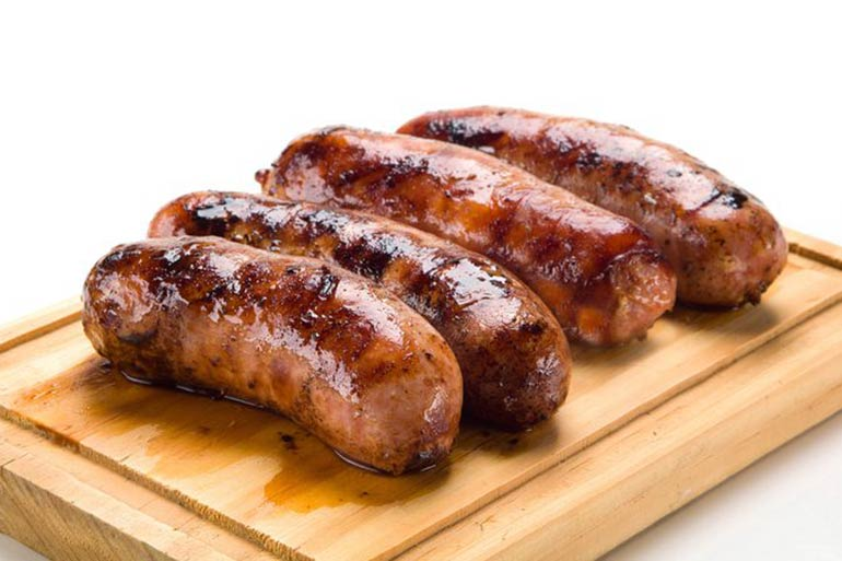 air fryer sausages recipe