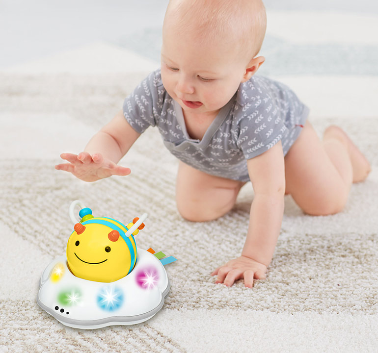 Skip Hop Explore And More Follow Bee Crawl Toy - gift ideas for baby