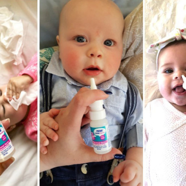 REVIEW: Mums Agree FESS Little Noses Spray Clears Helps Clear Congestion in Babies