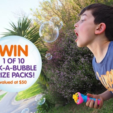 WIN: Kids Like Bubbles? They're Gonna LOVE Lick-a-Bubble, Edible Bubbles Loaded with Laughs