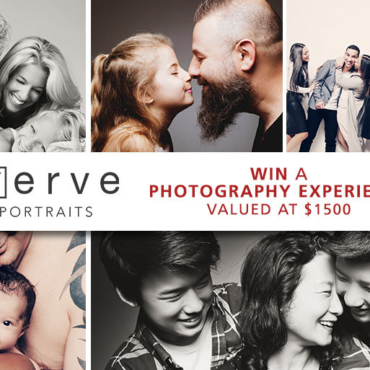 WIN a Gorgeous Family Photography Experience (+Artwork) from Award-Winning Verve Portraits