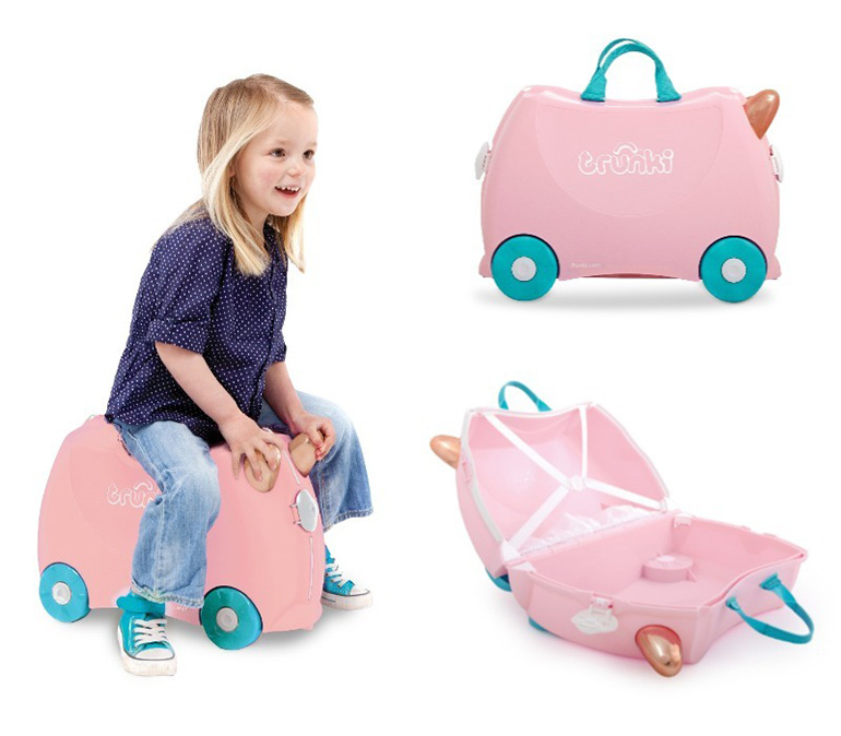 Floss the Flamingo Trunki travel case for kids