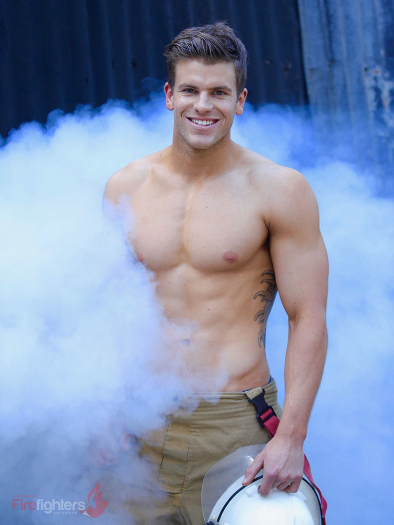 Hot Aussie Firefighter Calendar
