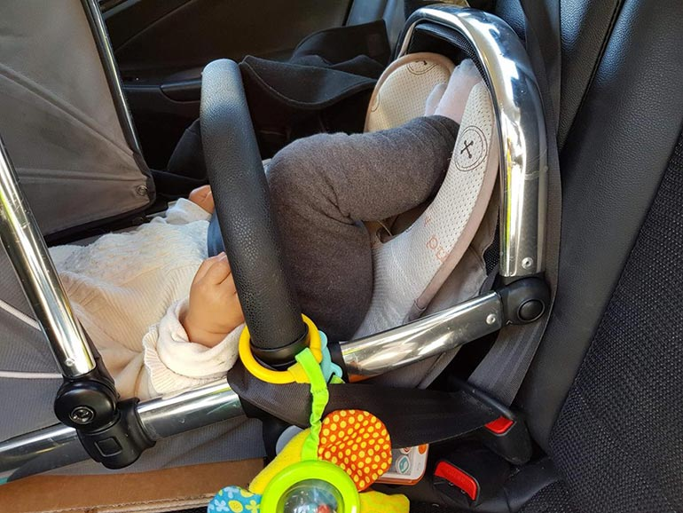 baby car seat NSW police