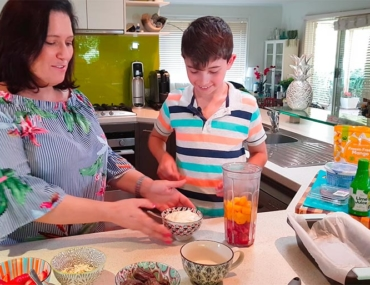 Cooking with kids woolworths challenge