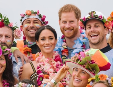 Prince Harry and Meghan Markle Bondi Beach Australia