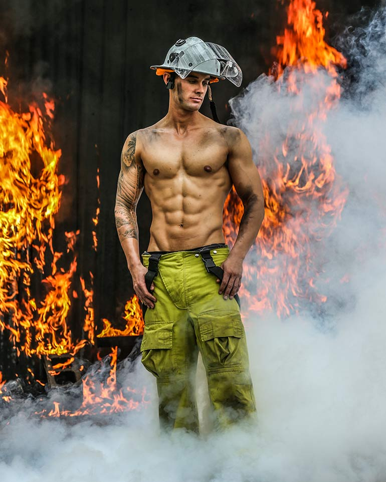 Australian firefighters calendar 2019