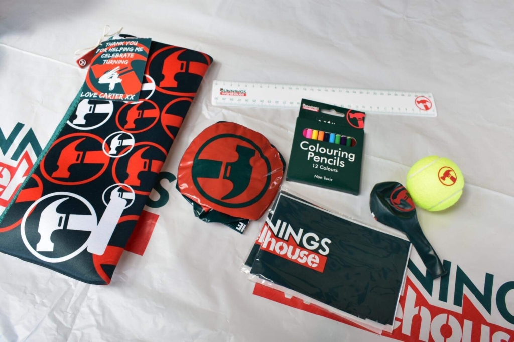 Bunnings gift bag contents