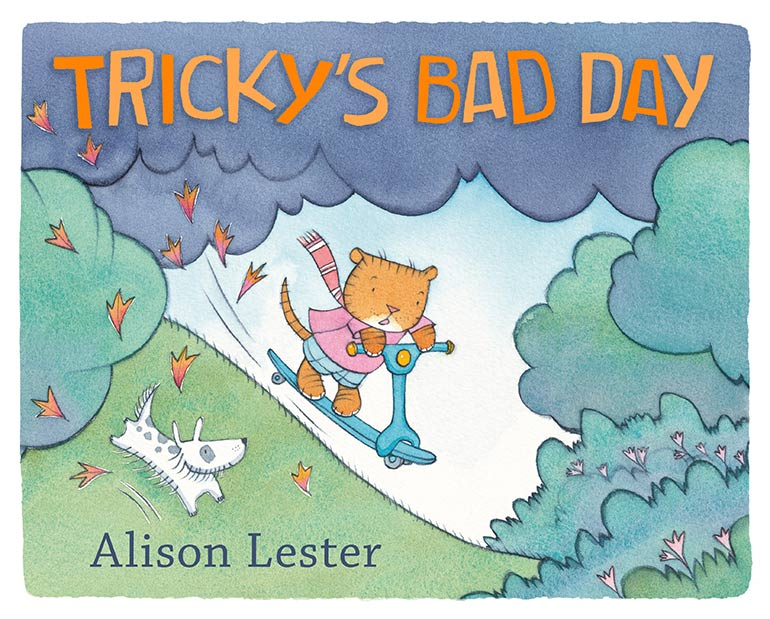 Tricky's Bad Day best books for kids