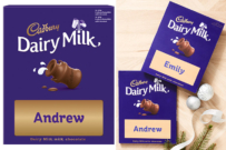 Cadbury dairy milk personalised