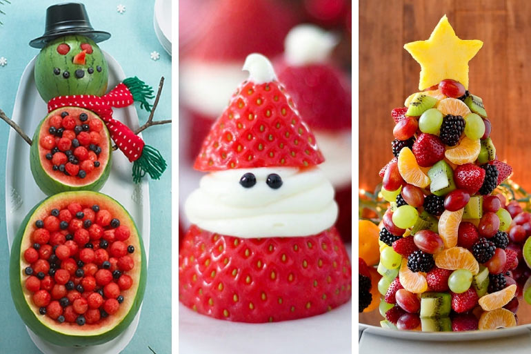 Christmas Fruit: 9 Ways To Get Festive With Fruit
