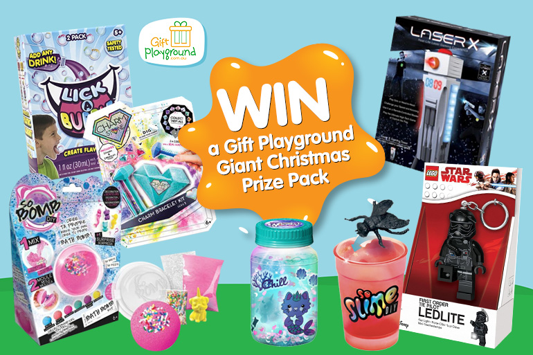 win Christmas gifts for kids