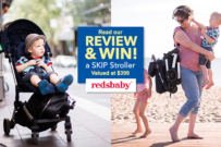 redsbaby SKIP pram review