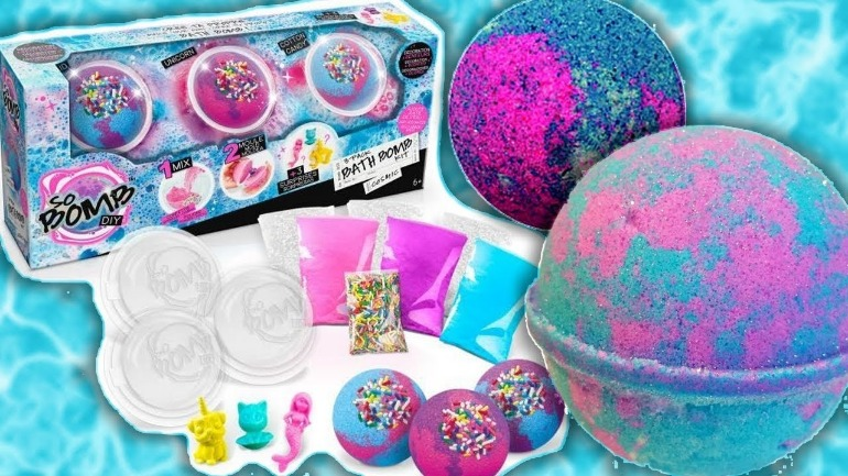 best gifts for kids for christmas - so bomb bath bomb kit