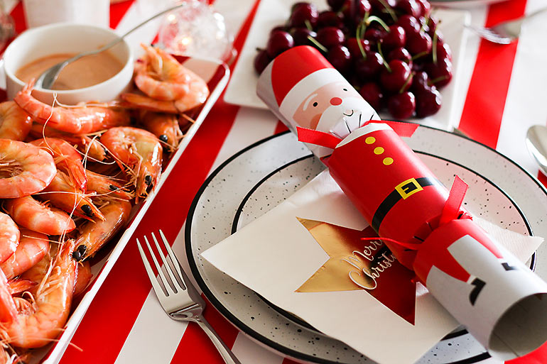 Woolworths Christmas tableware