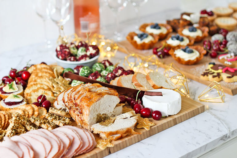 Woolworths entertaining, grazing platters