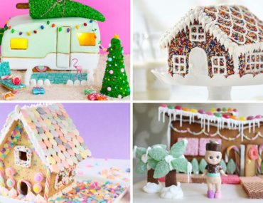 Christmas gingerbread houses