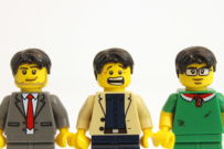 swallowing Lego heads