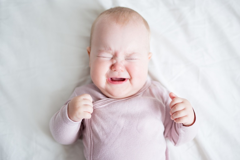 baby crying | new parent advice