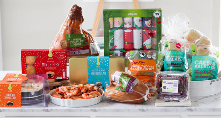 Woolworths easy Christmas lunch