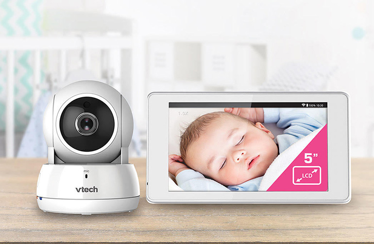 Vtech baby monitor, camera and screen