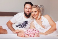 Charli Robinson Liam Talbot Baby feature