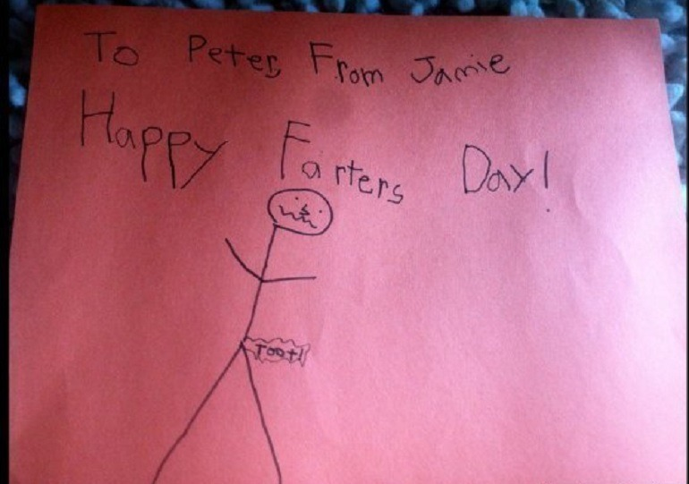 Fathers Day spelling mistake
