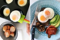 muffin tin poached eggs
