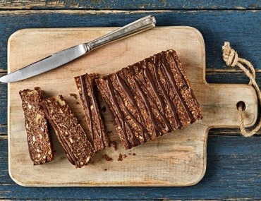 No bake chocolate slice recipe