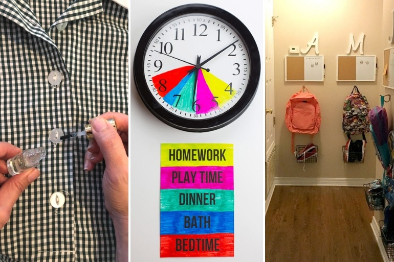 best back to school hacks