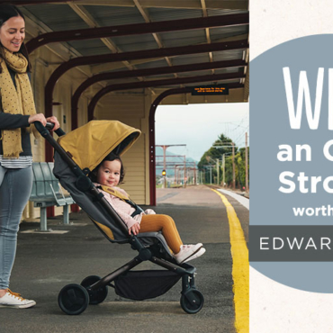 Otto Stroller From Edwards & Co Makes Family Travel Easy