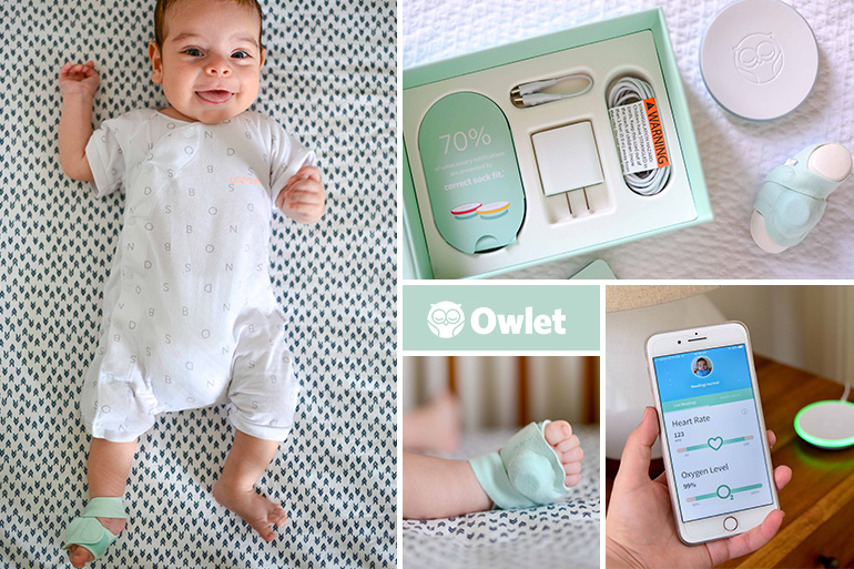 Review Owlet Smart Sock 2 Baby Monitor Delivers Peace Of Mind