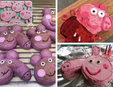 Peppa Pig Baking Fails