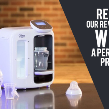 REVIEW: Tommee Tippee Dream Machine for Perfect Bottle Prep