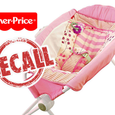RECALL: Fisher-Price Baby Sleeper Recalled Upon Being Linked to Infant Deaths