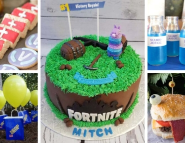 Fortnite-themed-birthday-party