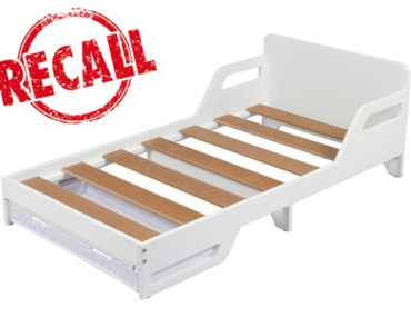 mason toddler bed recall