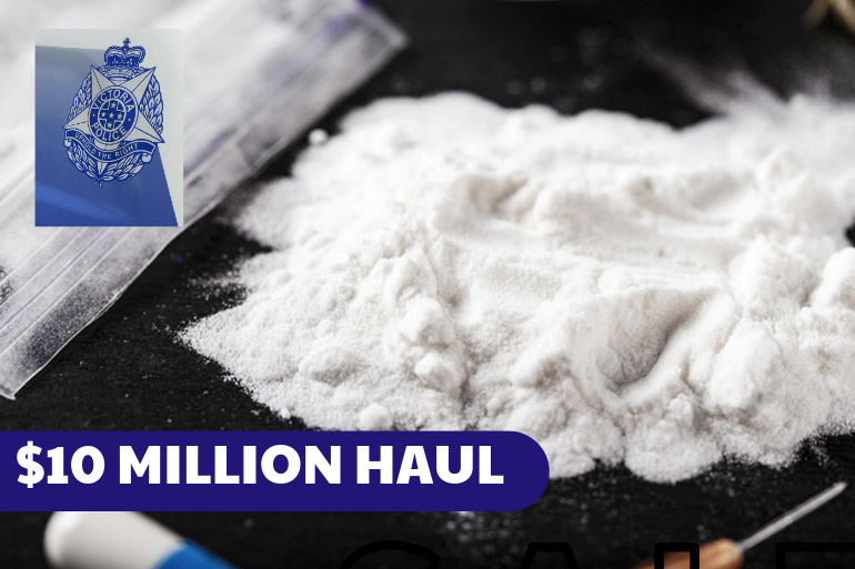 ten million dollar drug haul