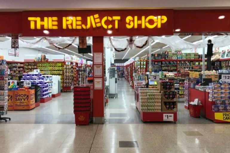 The Reject Shop store