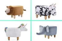 big W animal ottomans