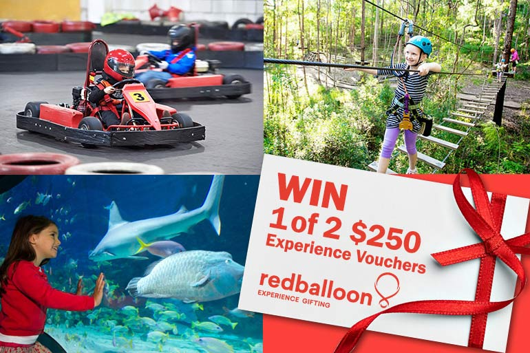 redBalloon gift experiences school holiday activities for kids
