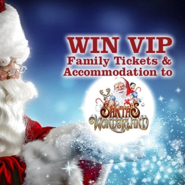 WIN: VIP Tickets to Santa's Wonderland, this Christmas