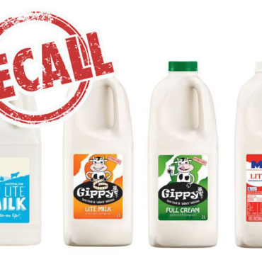 MILK RECALL: Second Milk Recall Issued Over New Contamination Fears