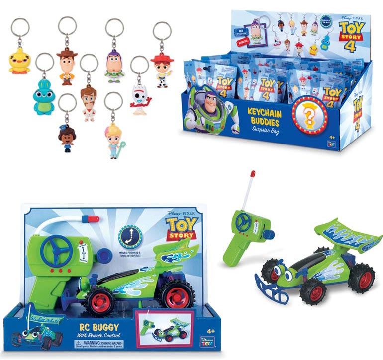 Toy Story RC buggy and key chain Hot Toys