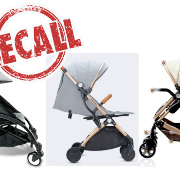 RECALL:  Baby Strollers Recalled Due to Missing Safety Features