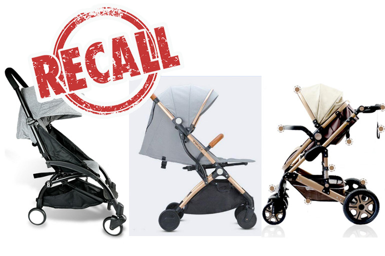 baby stroller recall