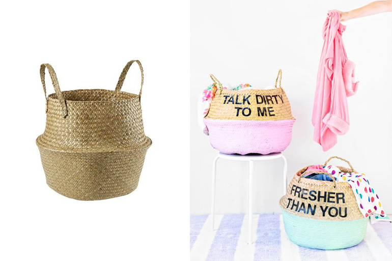 belly basket kmart hacks