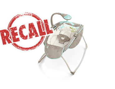 Kids II infant rocker sleeper recall
